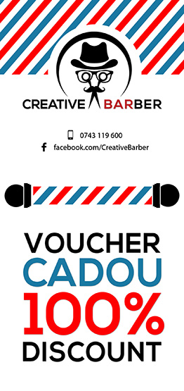 Voucher frizerie - Creative Barber Shop